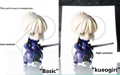 comparison of contrast (haru88) Tags: anime nikon figure アニメ フィギュア typemoon nendoroid ねんどろいど d7000 nendoroids