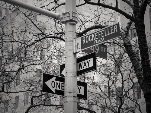 Rockefeller Plaza, New York, USA
