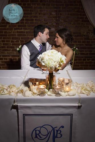 Sweetheart Table - HotHouse Design Studio in Birmingham, AL; www.danieltaylorphoto.com