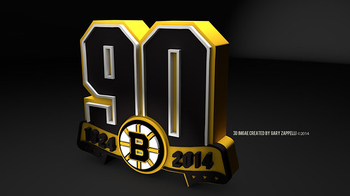 "Boston Bruins  90th Anniversary Logo • <a style=""font-size:0.8em;"" href=""http://www.flickr.com/photos/97803833@N04/12014976155/"" target=""_blank"">View on Flickr</a>"