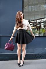 DSC_0195 (Likeabyul) Tags: paris leather fashion bag asian beige purple guess chinese knit korean skater satchel genuine lookbook plasmas streetstyle zipia fashionblogger sheinside