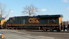 CSX 5231 (blazer8696) Tags: railroad usa ny newyork west unitedstates shore locomotive milton csx 2014 ecw 5231 img1633 es40dc t2014