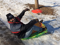 Went sledding today (Zepfanman.com) Tags: winter snow me screenshot sledding louisville cherokeepark