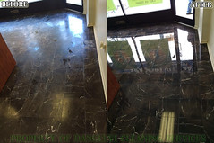 Floor Maintenance - Restoration