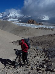 Pushing up towards Corona del Inca