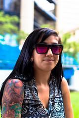 4/100 - Minya (Cesar Sanctis) Tags: portrait project photography stranger 100strangers