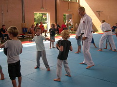 "zomerspelen 2013 karate clinic • <a style=""font-size:0.8em;"" href=""http://www.flickr.com/photos/125345099@N08/14220786197/"" target=""_blank"">View on Flickr</a>"