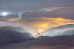 WuFenShan, Taiwan _IMG_5471 (Len) Tags: sky mountain fog clouds landscape nightscape taiwan      6d  rueifang 70300 blackcard   ruifang  ef70300mmf456isusm    757m steamfog    wufen    newtaipeicity wufenshan