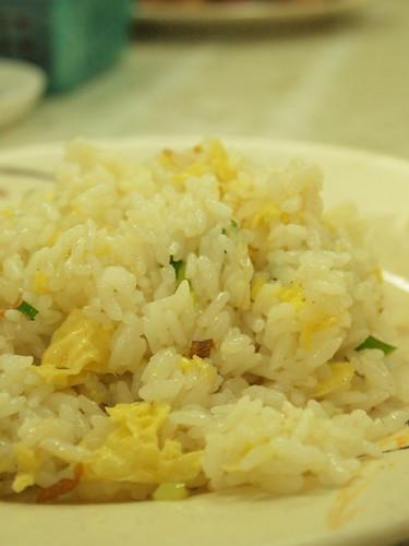 卵とエビの炒飯
