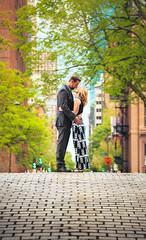 Ben & Caitlin (www.jasoncoreyphoto.com) Tags: ocean wedding sky jason nature boston skyline canon caitlin engagement couple ben corey esplanade proposal thumbtack lightroom t3i 2014 jasoncorey