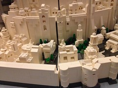 """Final build of epic microscale Minas Tirith for Brickcon 2014 • <a style=""""font-size:0.8em;"""" href=""""https://www.flickr.com/photos/75476563@N08/14430291551/"""" target=""""_blank"""">View on Flickr</a>"""
