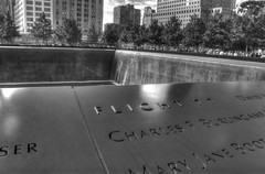 9/11 Memorial NYC (Bill Maksim Photography) Tags: world ocean park new york city music food building history ice apple fountain station statue price ferry brooklyn river shopping garden underground square liberty fire photography zoo boat actors big bars memorial tour view state time ellis stadium top manhattan taxi jets union skating 911 central broadway nj style center scene tourists arena pizza madison empire planes directions movies service giants hotels pubs rockefeller trade rangers hdr hijack islanders knicks maksim
