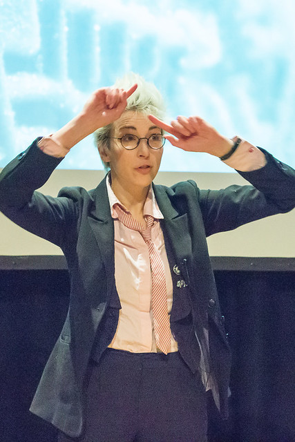 Iszi Lawrence at Winchester Skeptics 2013-12-12