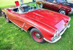 C1 Corvette (scott597) Tags: show cruise ohio red car hub gate caps convertible chevy corvette 1962 c1 brookville 2014