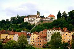 Passau,Bayern (Germany) (jens_helmecke) Tags: passau bayern donau isar flus river nikon gebude architektur jens helmecke deutschland germany