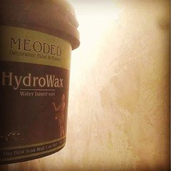 Meoded Hydrowax (Meoded_Paint_Plaster) Tags: instagramapp square squareformat iphoneography uploaded:by=instagram hefe meoded wall sealer venetian plaster hydrowax contractor products shine
