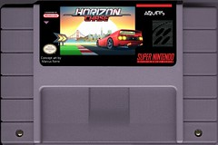 Horizon Chase for Super Nintendo (marcus_rerre) Tags: marcus rerre horizon chase horizonchase conceptart aquiris snes super nintendo cartridge conceito montagem