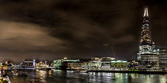 London (tillmann_geu) Tags: london night towerbridge tower bridge shard long exposure fujifilm fuji xt1