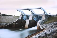 Tobesofkee Dam Macon Ga. (Kirtsky) Tags: infocus highquality dam spillway lake longexposure weldingglass water