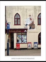 News Agent Shop, Teignmouth (Mike Parr) Tags: fuji colour shop architecture teignmouth devon