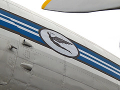 Detalhe DC-3 (Gaspar Corrêa) Tags: varig airplane avião expirience dc3 ppanu pp anu douglinhas douglas boulevard laçador