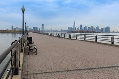 Liberty Walk at Liberty State Park (wuestenigel) Tags: 2016 libertystatepark libertywalk newyorkcity jerseycity newjersey usa us