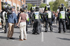 Crowd control (Ian Press Photography) Tags: ipswich town football club portman road suffolk norwiich city fc 999 police emergency service services match old farm derby championship norfolk mounted pre crowd control horse horses london colp