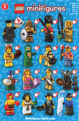 Collectible Minifigures Series 05 (AB Quest) Tags: lego collectible minifigures