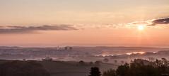 Sunshine In Burgundy (Alexis Cayot) Tags: sunshine 70 ef et brouillard alexis l bourgogne 5d eos paysage torcy canon loire serie cayot 24 lecreusot panoramique markii saone lever jour soleil brume
