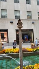 2016-10-19 - Rockefeller Center - Channel Gardens - birdhouse (zigwaffle) Tags: 2016 nyc newyorkcity manhattan timessquare rockefellercenter saintpatrickscathedral fifthavenue wretchedexcess centralpark