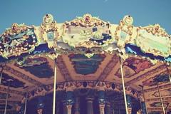 Mon mange  moi cest toi.... (patoche 38) Tags: mange tiovivo carroussel sky ciel enfance niez enchantment manegeenchant couleurs colors