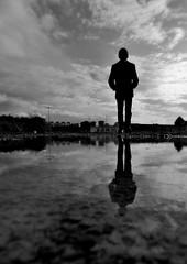 Yo y mi reflejo (Oscar Millarengo) Tags: reflejo