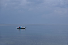 Alone (sarah_presh) Tags: koroni greece peleponnese sea boat lonely alone space nikond750