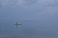 Alone (sarah_presh) Tags: koroni greece peleponnese sea boat lonely alone space nikond750