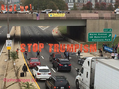 StopTrumpism-I-395 (Backbone Campaign) Tags: lameducktpp tppvictory stoptrumpism riseup evictdnc backbonecampaign popularresistance flushthetpp