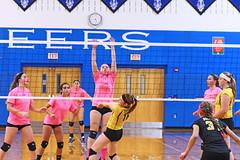IMG_10366 (SJH Foto) Tags: girls volleyball high school lampeterstrasburg lampeter strasburg solanco team tween teen east teenager varsity net battle spike block action shot jump midair burst mode