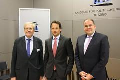 (v.l.) Wilfried Loth, Andreas Kalina und Henrik Scheller (apbtutzing) Tags: europa europapolitik europäischeunion europäische desintegration integration einheit vielfalt brexit integrationsprojekt