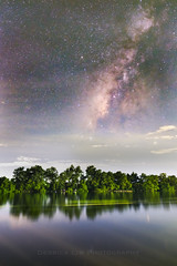 Milky Way over Maekhlong River