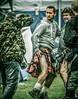 Show a leg!      Will Mellor poses with Rory McGrath (FotoFling Scotland) Tags: 2012 event scotland birnamhighlandgames kilt leg perthshire rorymcgrath showaleg upkilt willmellor dunkeld unitedkingdom gb