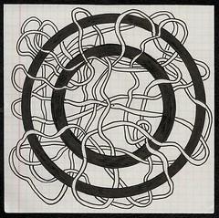 Life Preserver (Abstracted Distractions) Tags: doodle ar art modernart abstract abstractart drawing penandink blackandwhiteart blackandwhite circles lifepreserver tangle sketchbook zentangle zendoodle