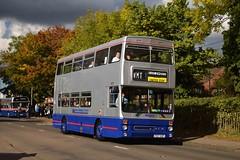 3057 Maypole 09/10/16 (MCW1987) Tags: wmpte west midland travel bammot wythall preserved mcw metrobus mk2 mk2a 3057 f57xof