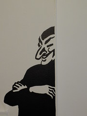 The Masked Fiend (failing_angel) Tags: 100115 london cityofwestminster tintin herge tintinhergésmasterpiece hergé