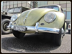 VW Beetle, 1956 (v8dub) Tags: vw beetle 1956 ovale ovali volkswagen fusca maggiolino käfer kever bug bubbla cox coccinelle schweiz suisse switzerland german pkw voiture car wagen worldcars auto automobile automotive aircooled old oldtimer oldcar klassik classic collector