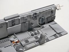 Micro Trench - Mod 3 (Dodge...) Tags: lego slug 2016 starwars trench run micro xwing falcon grey bley tiles movie scene classic pewpew