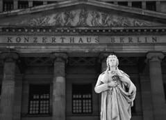 Konzerthaus Berlin (ericgrhs) Tags: statue gebude konzerthaus concert hall concerthall berlin gendarmenmarkt