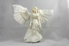 25 Amazing Origami Angels to Harp on About (Origami.me) Tags: origami paper papercraft craft diy fold folding angel