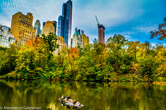 Central Park walk (Alexandros Gabrielsen) Tags: usa ny new york nyc d7100 nikon nikor central park lake trees nature naturelovers naturephotography city cityscape cityscapes landscape landscapes tree architecture sky autumn skyscrapper outdoor