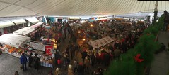 Panoramic View - The Milk Market - Christmas 2016 - Limerick - Ireland (firehouse.ie) Tags: holidays festive nollaig nollag christmastime christmas openair bigtop milkmarket markets market republic eire ireland city limerick