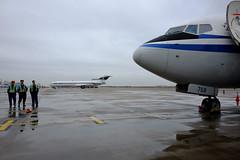 Boeing 727 and 737 (koimaru7) Tags: b727 b737 boeing727 boeing737 x70 shanghai pvg