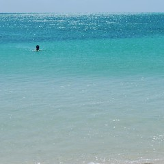 Taking a swim at Bahia Honda State Park #bahiahonda #floridakeys #overseashighway #florida #miami #usa